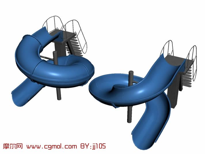 儿童娱乐设施,max模型