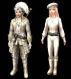 《大海航时代OL》中的游戏角色,maya模型