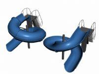 滑梯,儿童娱乐设施,max模型