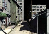 巷子,巷道,maya场景模型