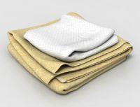 毛巾,浴巾3D模型