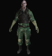 次时代大兵3D模型
