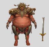 武士,3D游戏角色模型