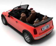 BMW宝马mini cooper汽车3D模型(带贴图)