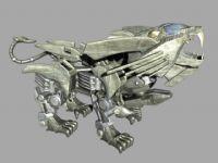 设计超酷的maya机器狗模型(材质齐全)