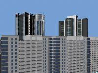 大楼建筑,办公楼,maya建筑模型