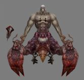 3D怪物boss模型