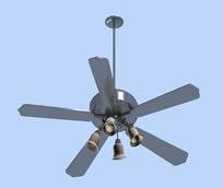 风扇,吊扇3D模型