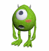 怪兽电力公司中的大眼仔3D模型