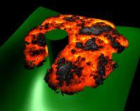 岩浆的maya模型(带岩浆流动动画)