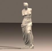 维纳斯石膏雕塑3D模型