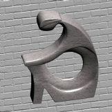 石雕,艺术品,艺术雕塑,雕塑3D模型