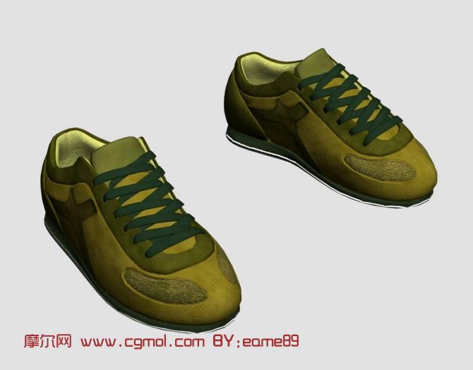 运动鞋,鞋子3d模型