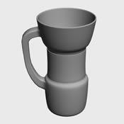 个性杯子3D模型