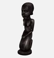 女人雕塑艺术品3D模型