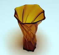 玻璃花瓶3D模型
