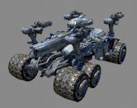 次时代战车maya模型