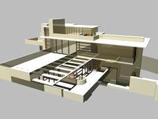 maya别墅模型