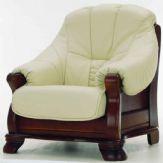 欧式木制底座沙发3D模型