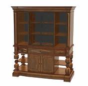 欧式雕花实木橱柜3D模型