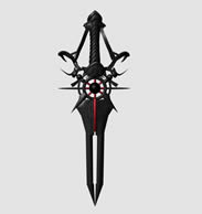 武器剑3D模型