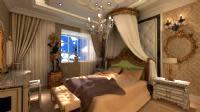欧式豪华卧室3D模型