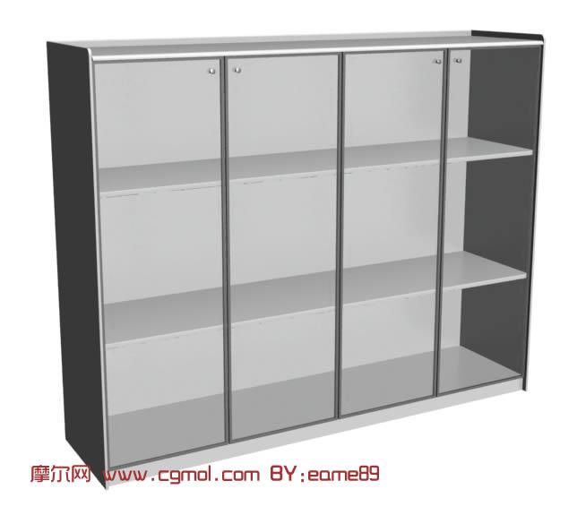 衣柜,陈列柜3D模型