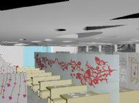 快餐店3D模型