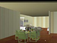 室内客厅3D模型