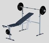杠铃,健身器材3D模型