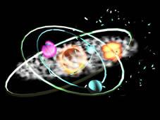 星空,行星3D模型(已绑定)