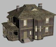 国外房屋,别墅3D模型