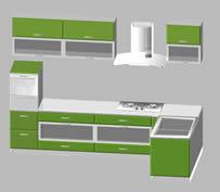 厨柜3d模型