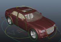 maya汽车模型