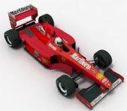 法拉利方程式赛车,F1赛车3D模型