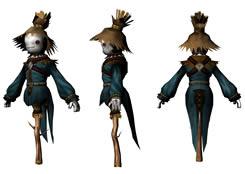 稻草人maya模型