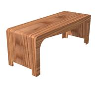 实木工艺小板凳,凳子3D模型