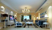 欧式客厅,3D室内设计模型
