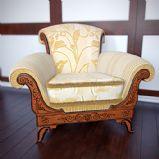 欧式豪华单人沙发3D模型