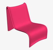 现代个性靠椅,靠背椅3D模型