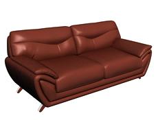 牛皮双人沙发3D模型