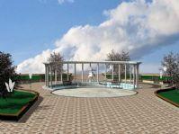 公园,园林景观设计3D模型