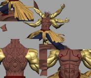Avalon制作阿修罗之怒3D模型(mb格式)