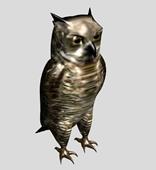 猫头鹰3d模型
