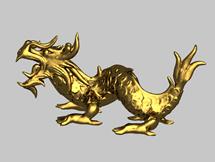 金龙,装饰品3d模型