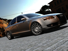 奥迪S5,3D汽车模型(高模)