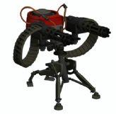 次时代游戏军团要塞2中的重型机枪3D模型