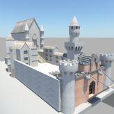 城堡3D模型