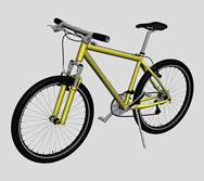 自行车,山地车3D模型