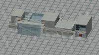 会所,3D建筑模型